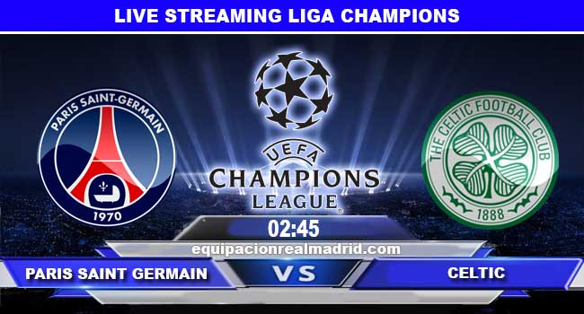 live streaming paris saint germain vs celtic 23 november 2017