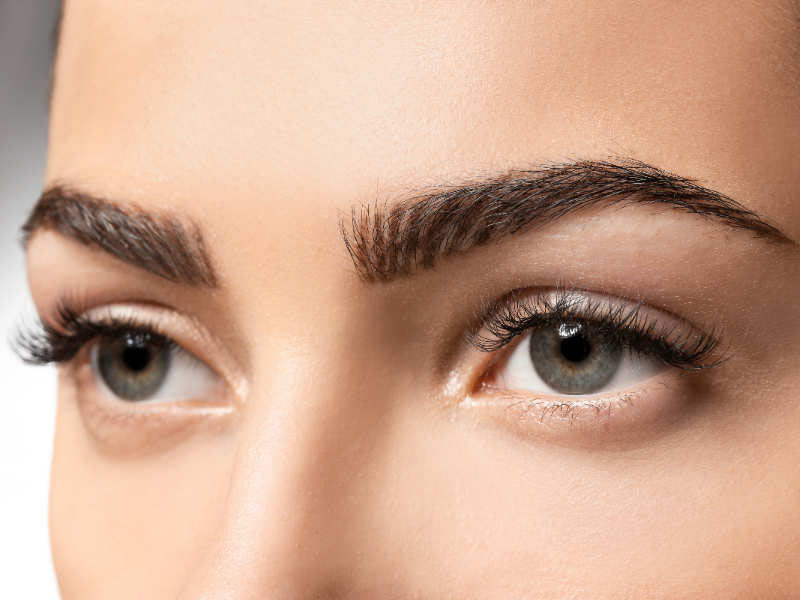 How to Grow Out Your Eyebrows Before Your Wedding