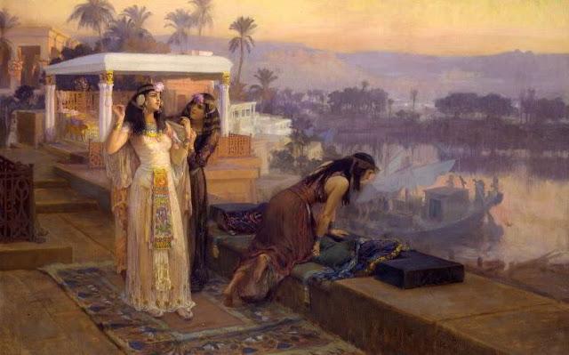 Cleopatra paintings by arthur bridgman