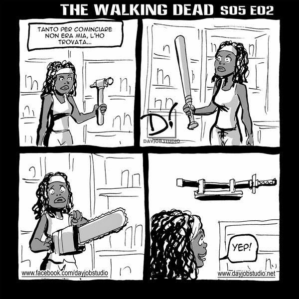The Walking Dead 5x02 (Dayjob Studio)