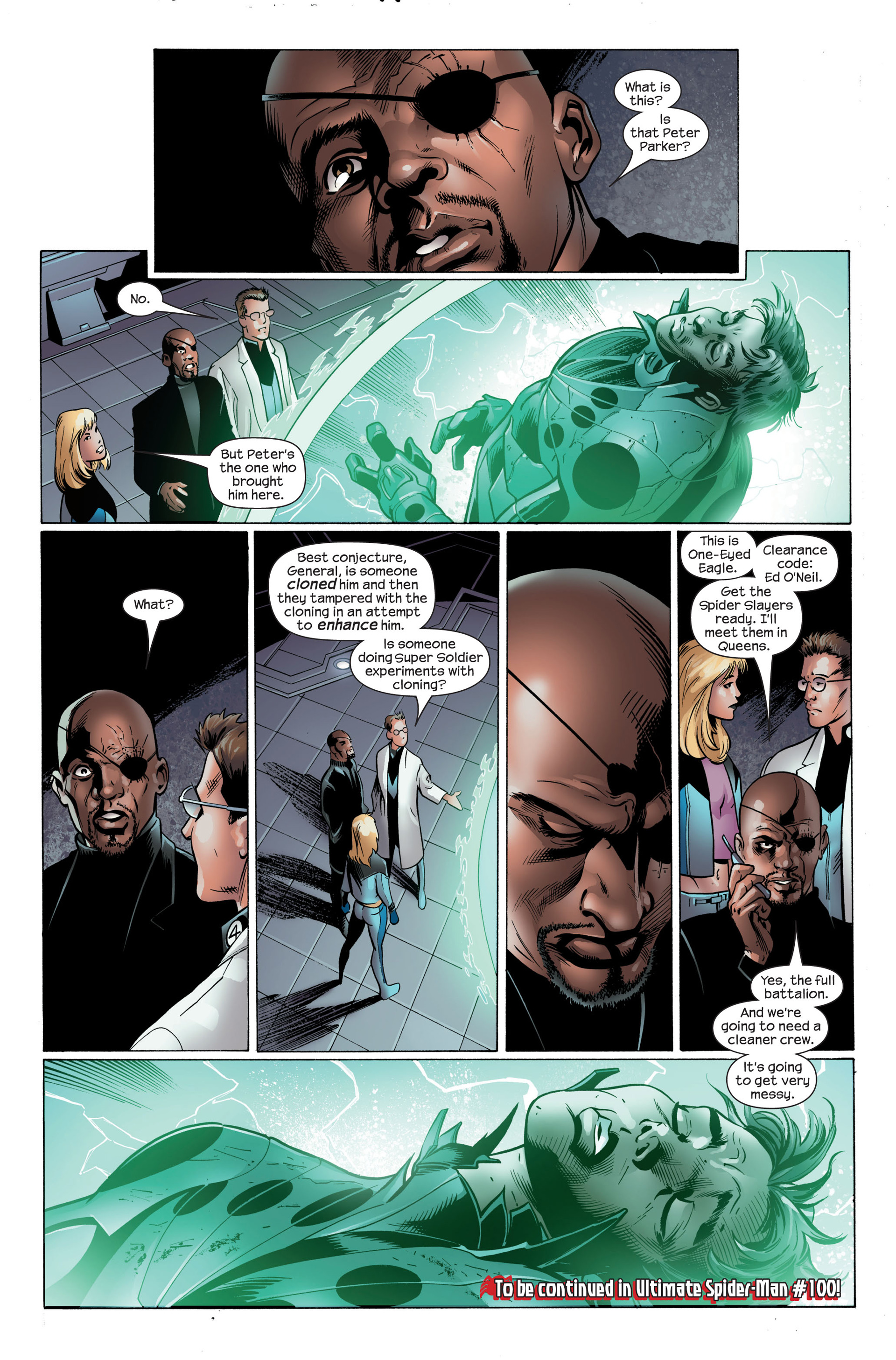 Read online Ultimate Spider-Man (2000) comic -  Issue #99 - 21