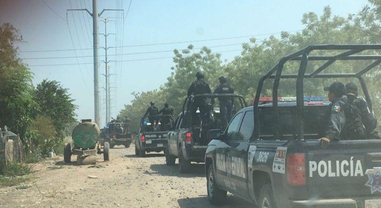 Federales y delincuentes se enfrentaron en San Pedro
