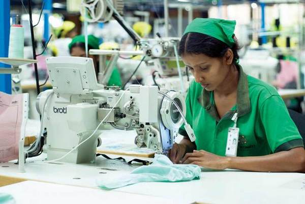 Sewing machine used in garment industry