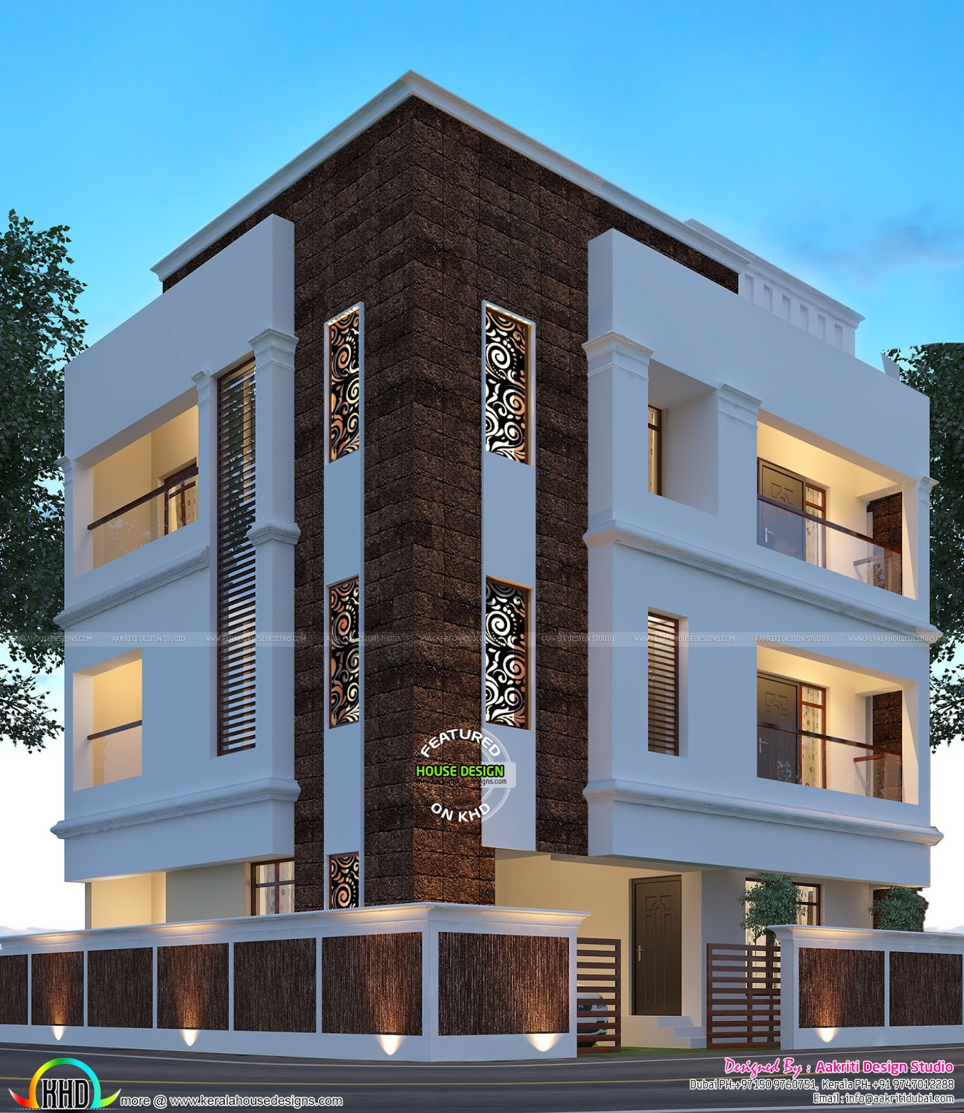 Kerala Home Design And Floor Plans: Beautiful Night View