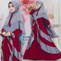 Busana Muslim Gamis Fatin Syari