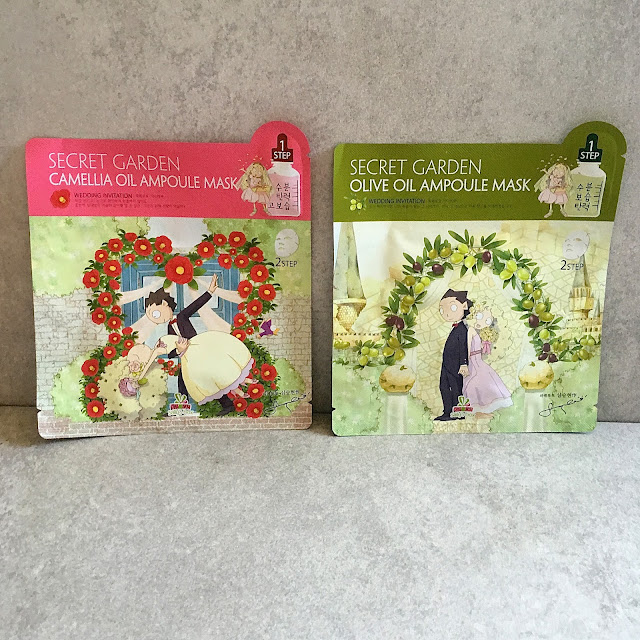 Secret Garden Face Masks