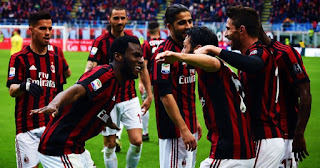 Milan vs Sassuolo Live Streaming online Today 08.04.2018