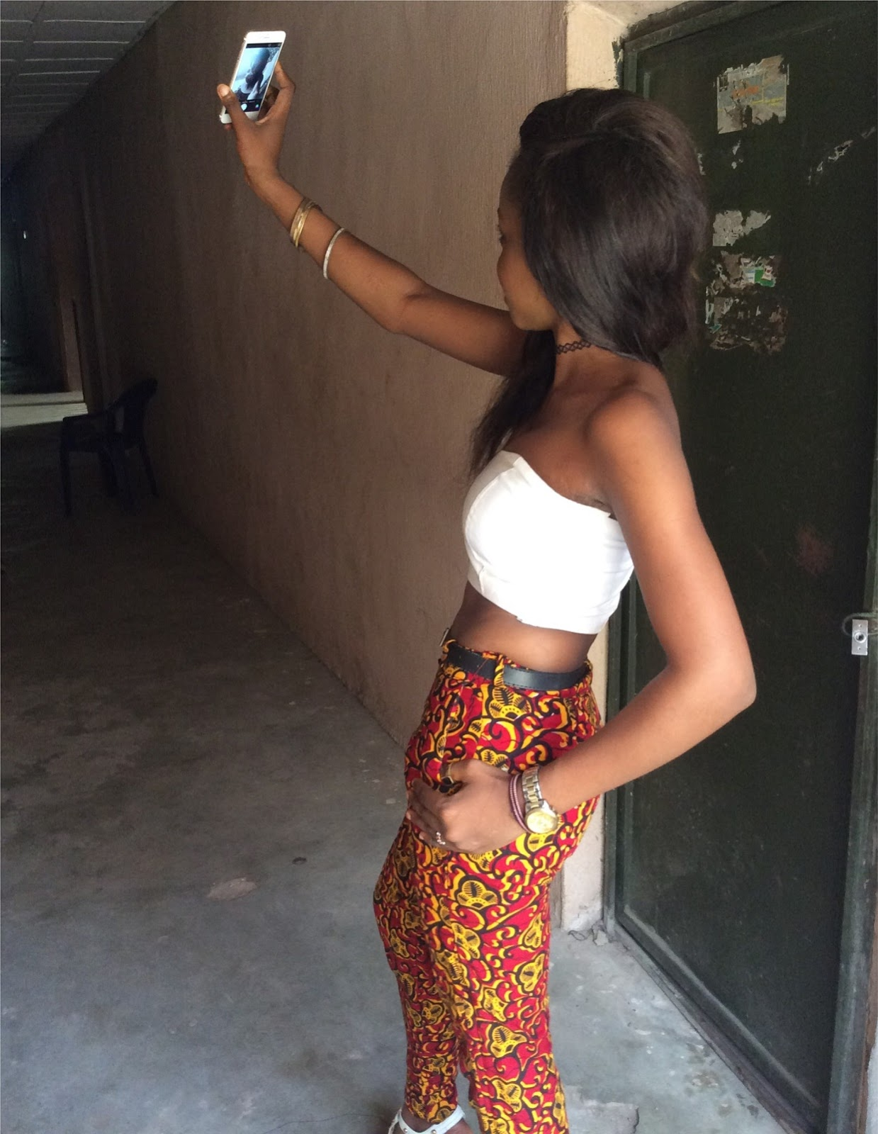 Ankara fashion trend pants