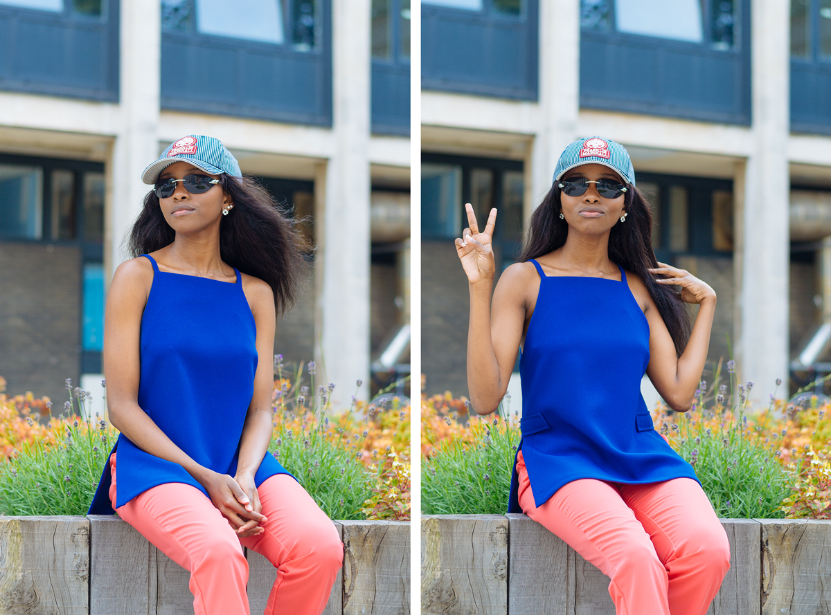 cartier sunglasses, franklin and marshall hat, fossil earrings, style blog