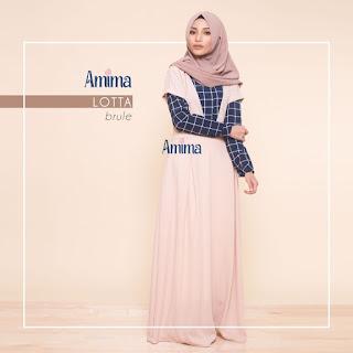 Gamis Amima Lotta Dress Brule