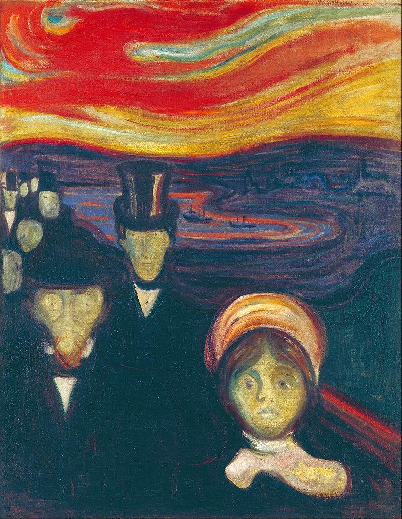 Lukisan Aliran Ekspresionisme : lukisan, aliran, ekspresionisme, LUKISAN, ORIGINAL, KARYA, PELUKIS, MAESTRO, TERKENAL:, BIOGRAFI, EDVARD, MUNCH