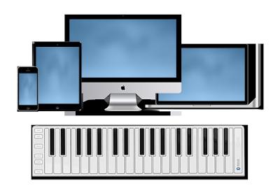 Phiên bản đàn organ không dây, nhẹ và hữu dụng