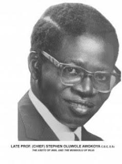 Chief Stephen Awokoya Postgraduate Scholarship Award in Science Fields 2019