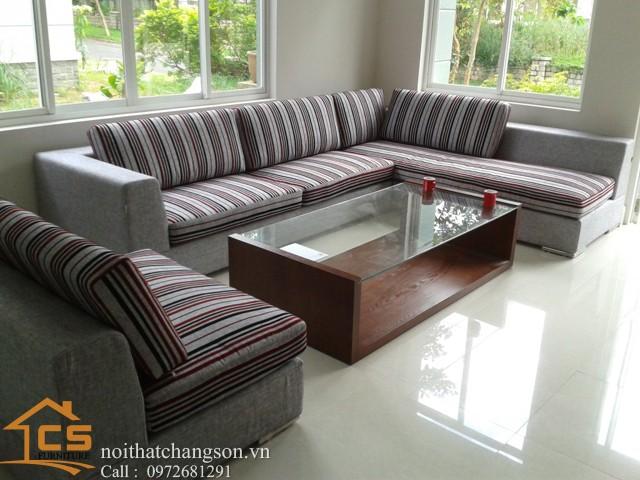 Sofa bền đẹp - giá rẻ sản xuất tại xưởng Nội Thất Chàng Sơn: Sofa đẹp 7