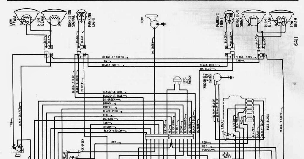 The 1964 Chevrolet Corvair Greenbrier Wiring Diagram