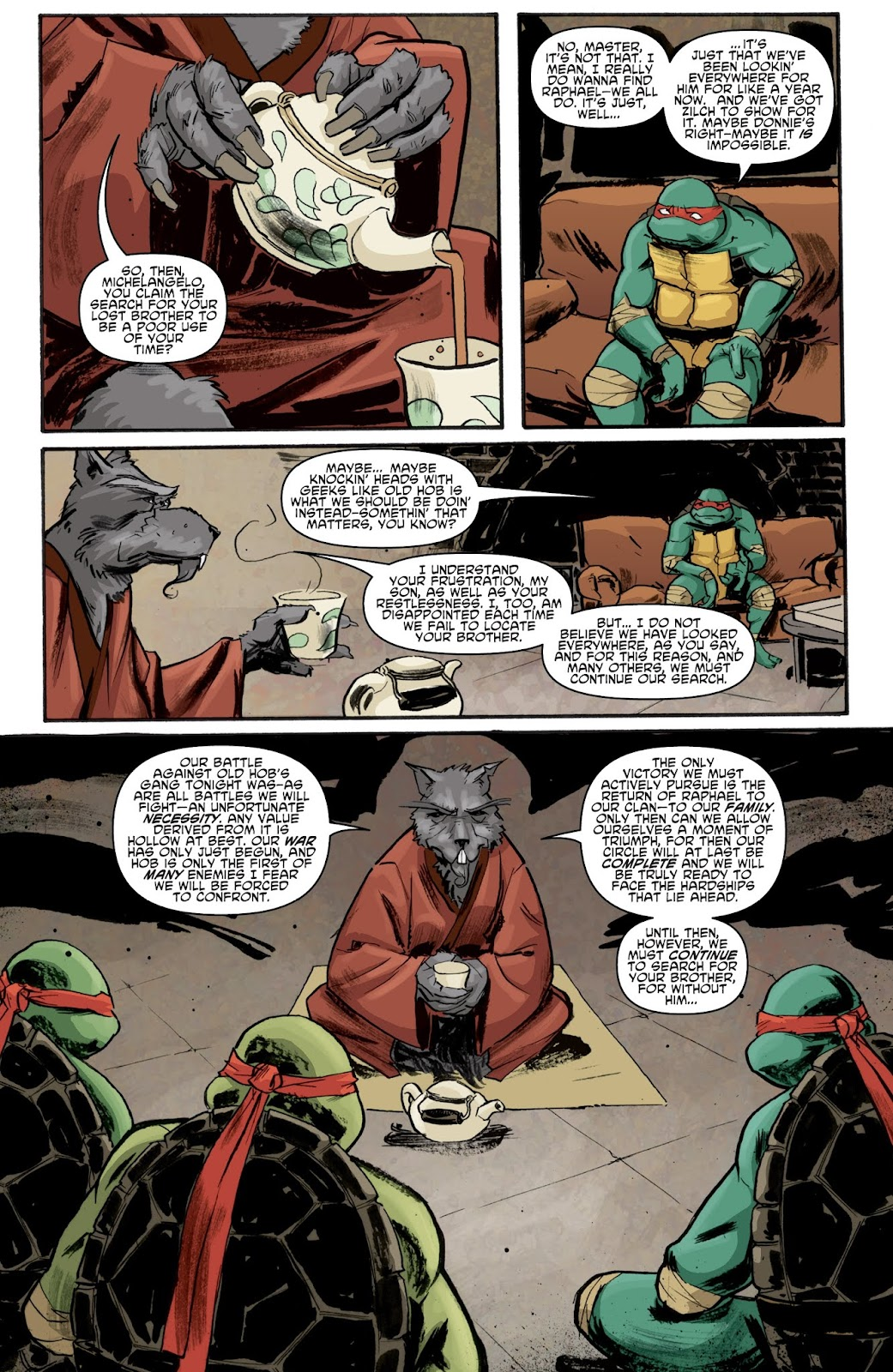 Read online Teenage Mutant Ninja Turtles: The IDW Collection comic -  Issue # TPB 1 (Part 1) - 48