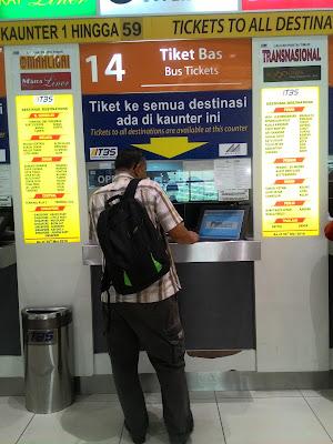 tiket bas tbs