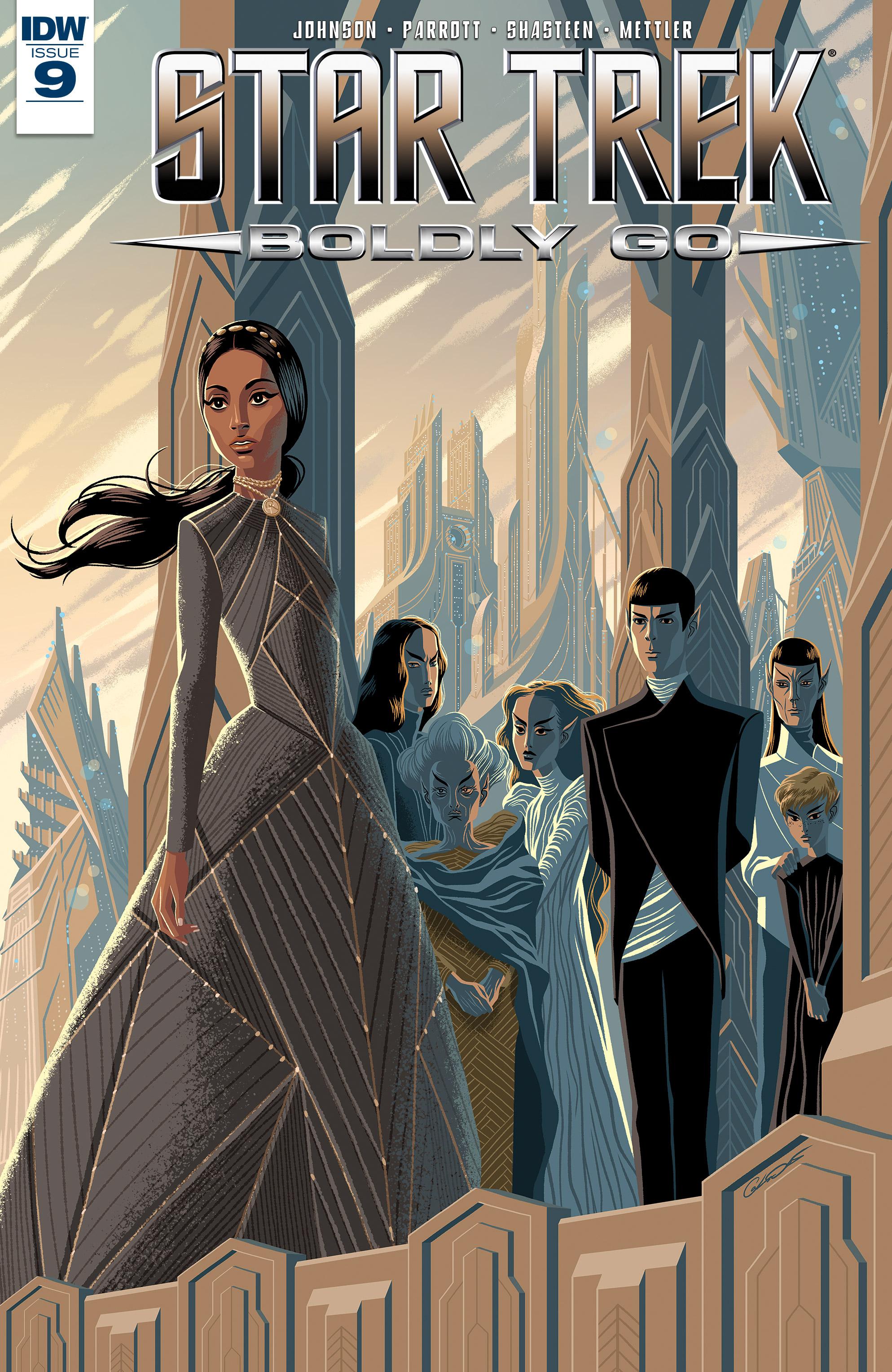Read online Star Trek: Boldly Go comic -  Issue #9 - 1