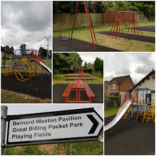Parks and Playgrounds in Northamptonshire - Great Billing Pocket Park