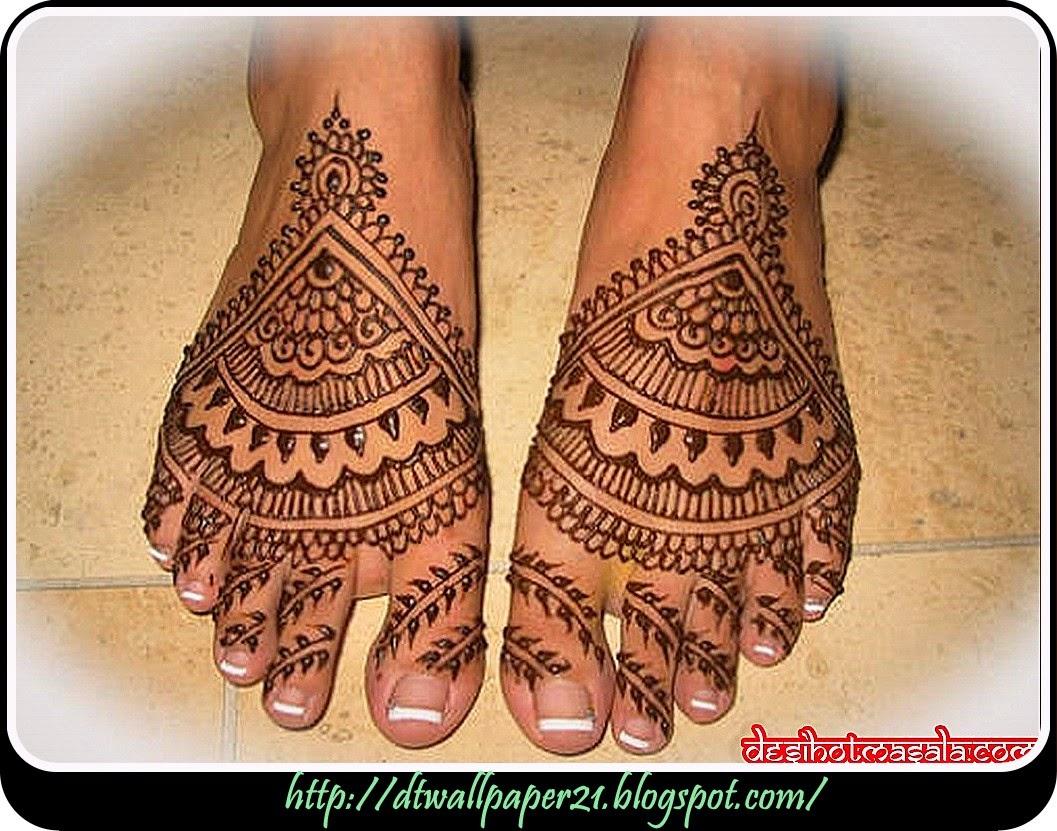 Mehendi Ceremony S Free Download : Desktop wallpaper background screensavers girl foot mehndi