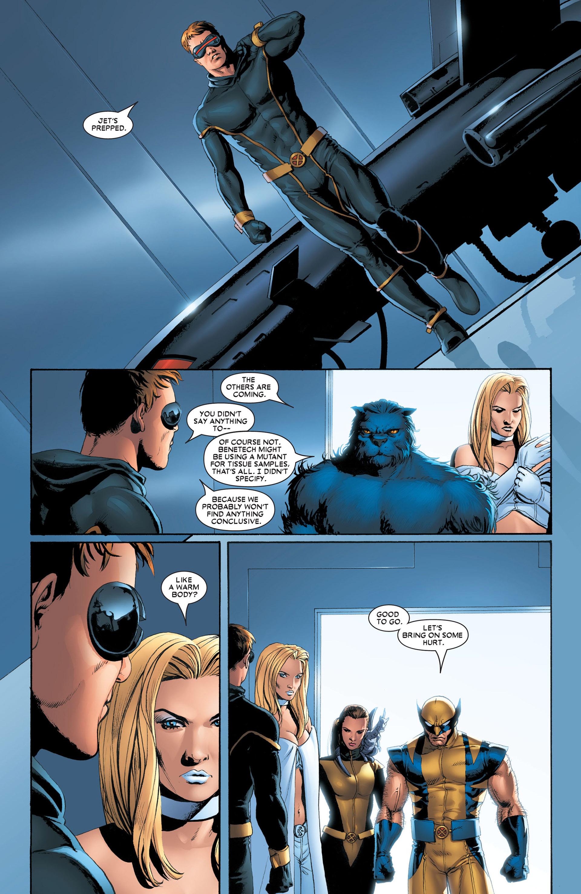 Read online Astonishing X-Men (2004) comic -  Issue #4 - 4