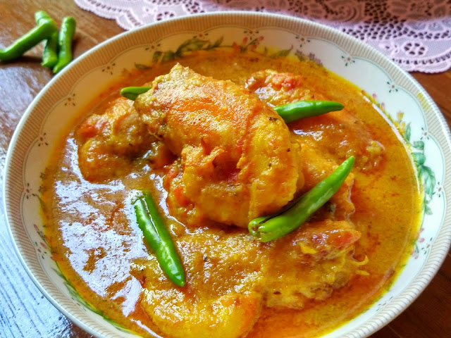 Prawn Malai Curry | Bengali Chingri Malai Curry