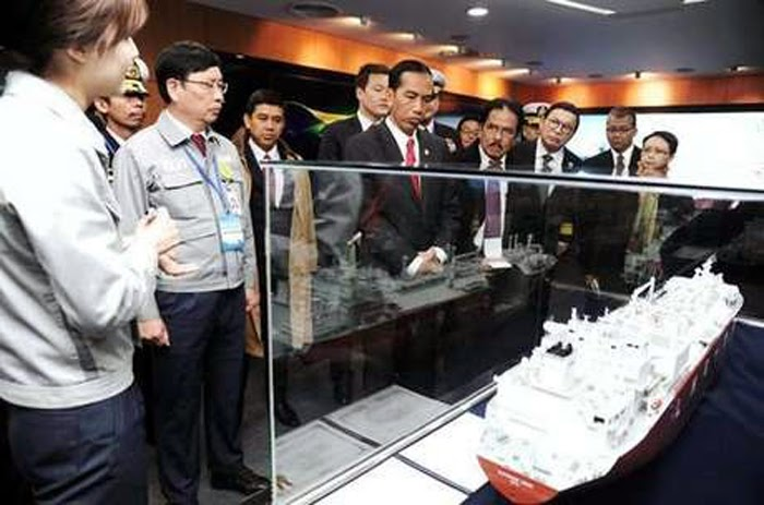 Kunjungan Presiden Joko Widodo ke Korea Selatan