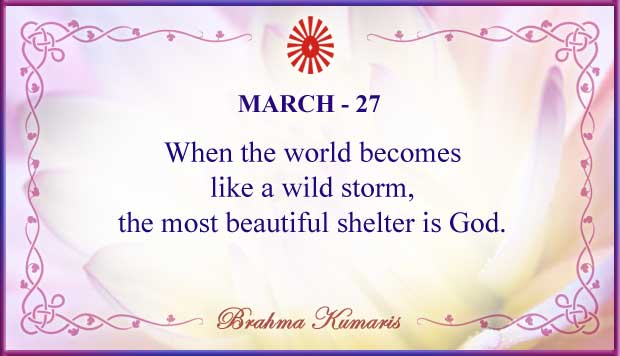 Thought For The Day March 27