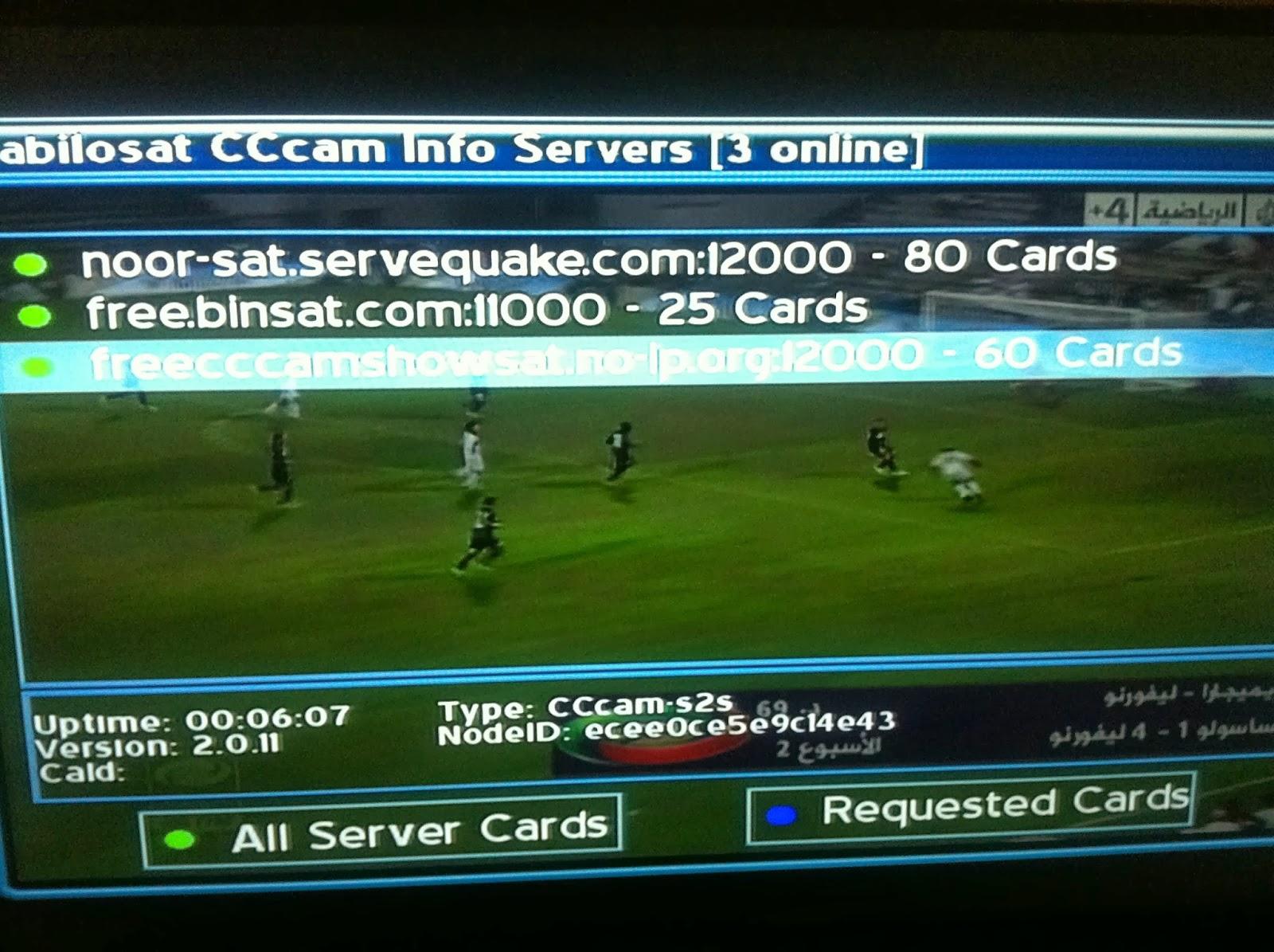 Cccam servers free : caralibro ga