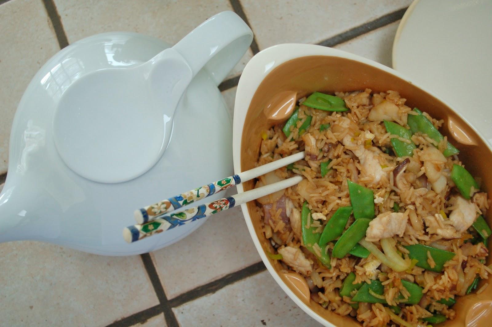 The Spice Garden: Turkey Fried Rice