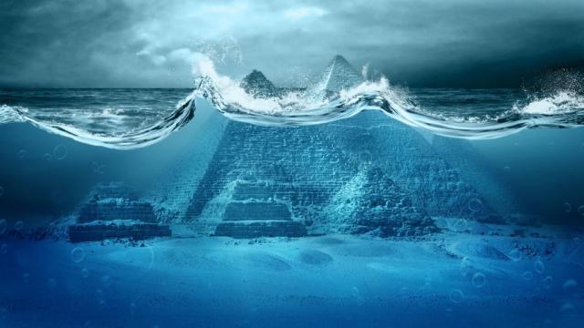 Digital Analysis Of Dead Sea Scrolls Reveals Noah's Ark Was A Pyramid