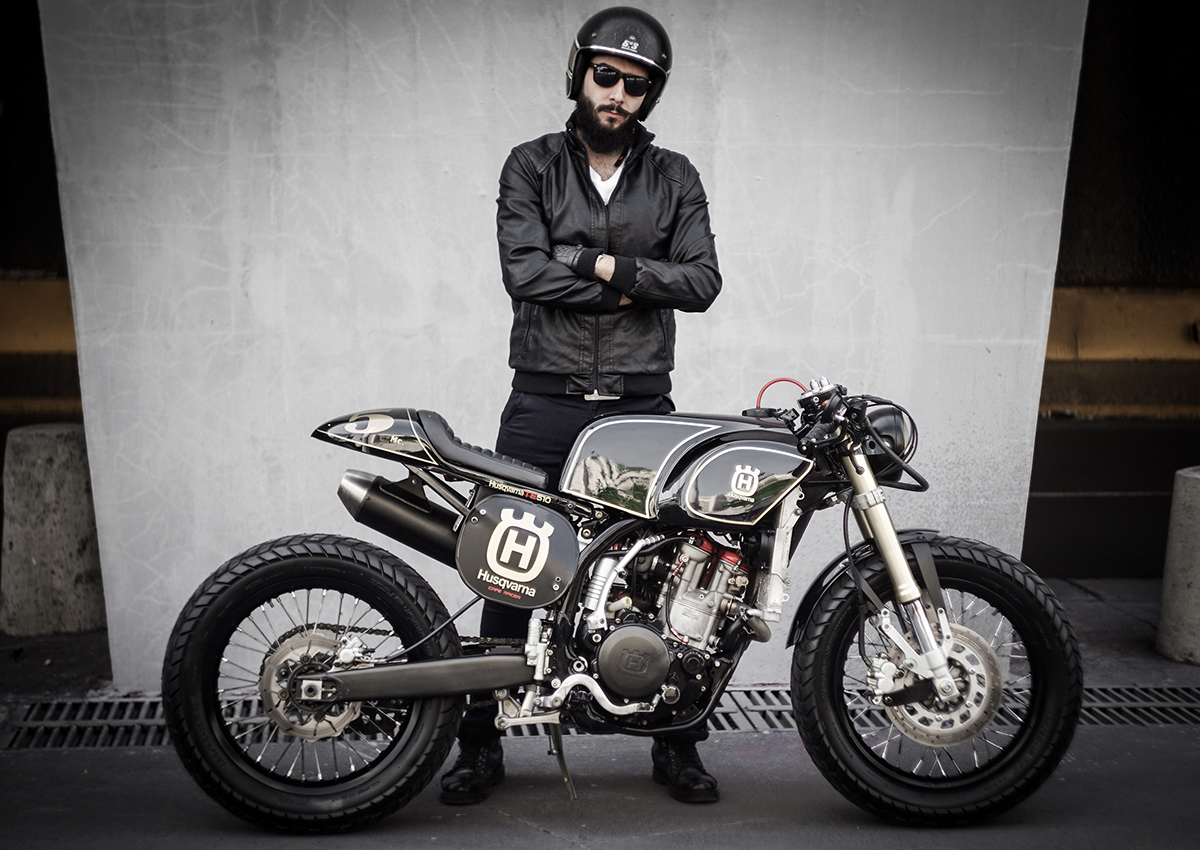 Bmw Motorcycle Jacket >> Dirty Deed - Husqvarna Cafe Racer | Return of the Cafe Racers