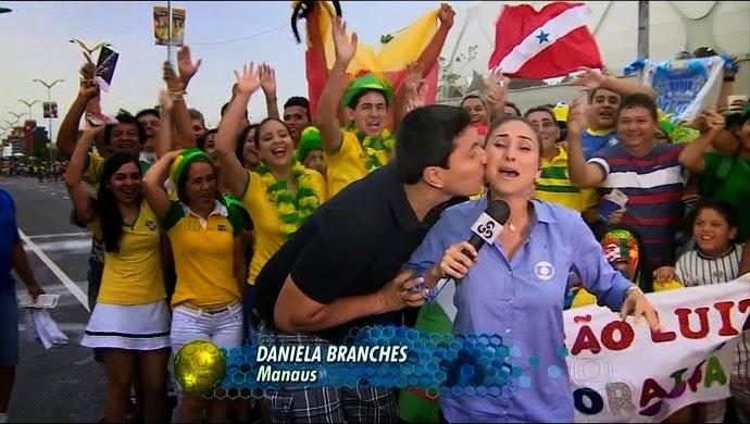 Daniela branches reporter da globo - 4 4