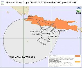 Siklon Tropis Cempaka