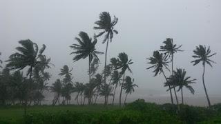 Die Ausläufer von MONA bringen viel Regen