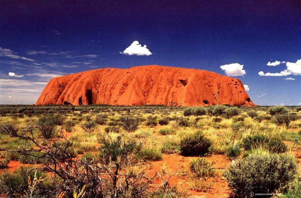 Улуру – духовния център на Австралия