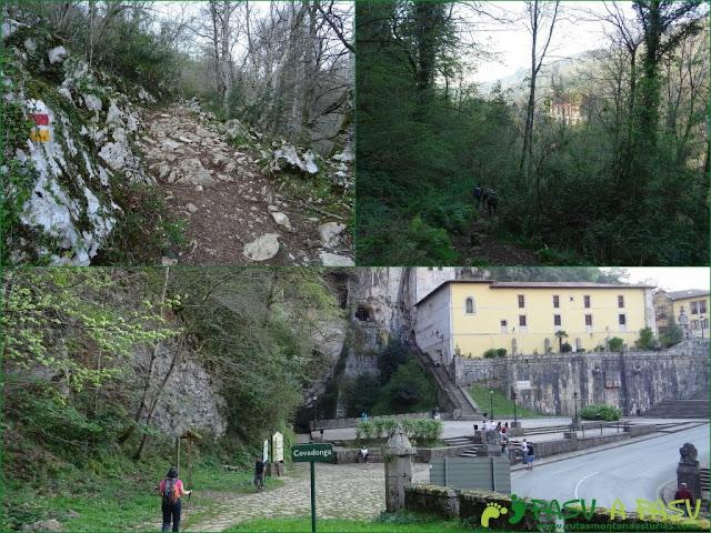 Bajando de Orandi a Covadonga