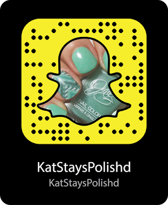 Snapchat | Snapcode | Kat Stays Polished - Beauty Blog