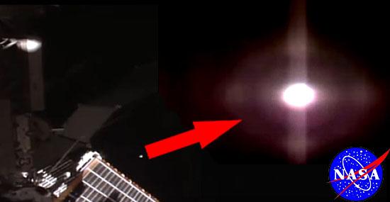 Sem querer, Nasa pode ter revelado OVNI próximo à Estação Espacial