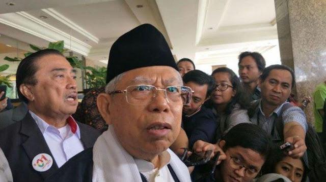 Ma'ruf Amien: Jokowi Bangun Tol Langit, Jangan Ikut Orang Pesimis yang Mau Indonesia Bubar