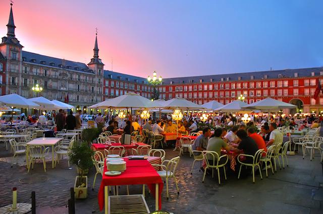 Horário de Verão em Madri