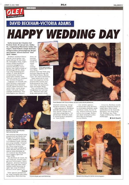 DAVID BECKHAM-VICTORIA ADAMS HAPPY WEDDING DAY