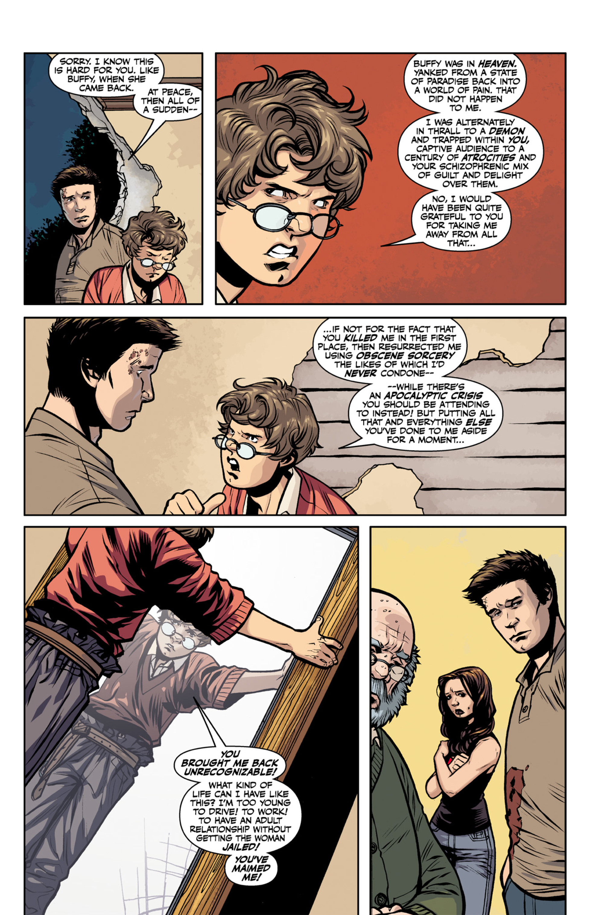 Read online Angel and Faith comic -  Issue #22 - 10