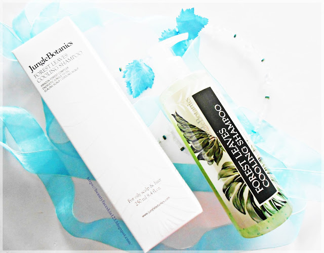 Jungle Botanics Forest Leaves Cooling Shampoo