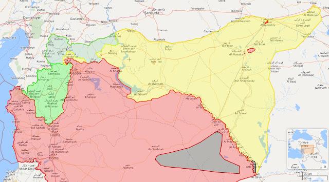Mientras tanto, en Siria...