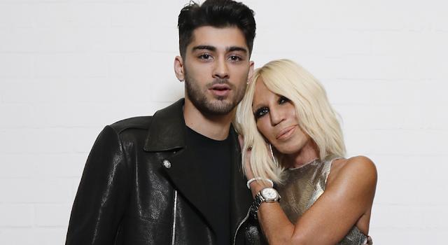 Zayn se unió con Donatella Versace para sacar su primer colección
