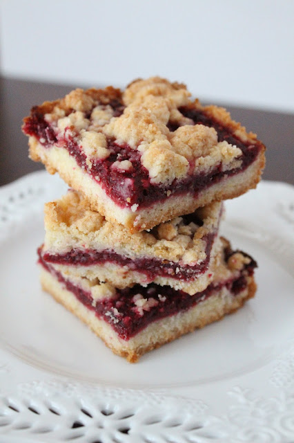 Love and Confections: Raspberry Crumb Bars