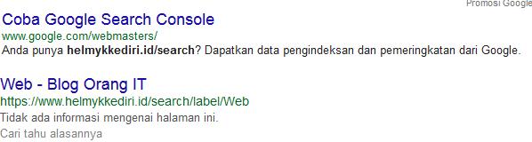menggunakan operatorr pencarian googler