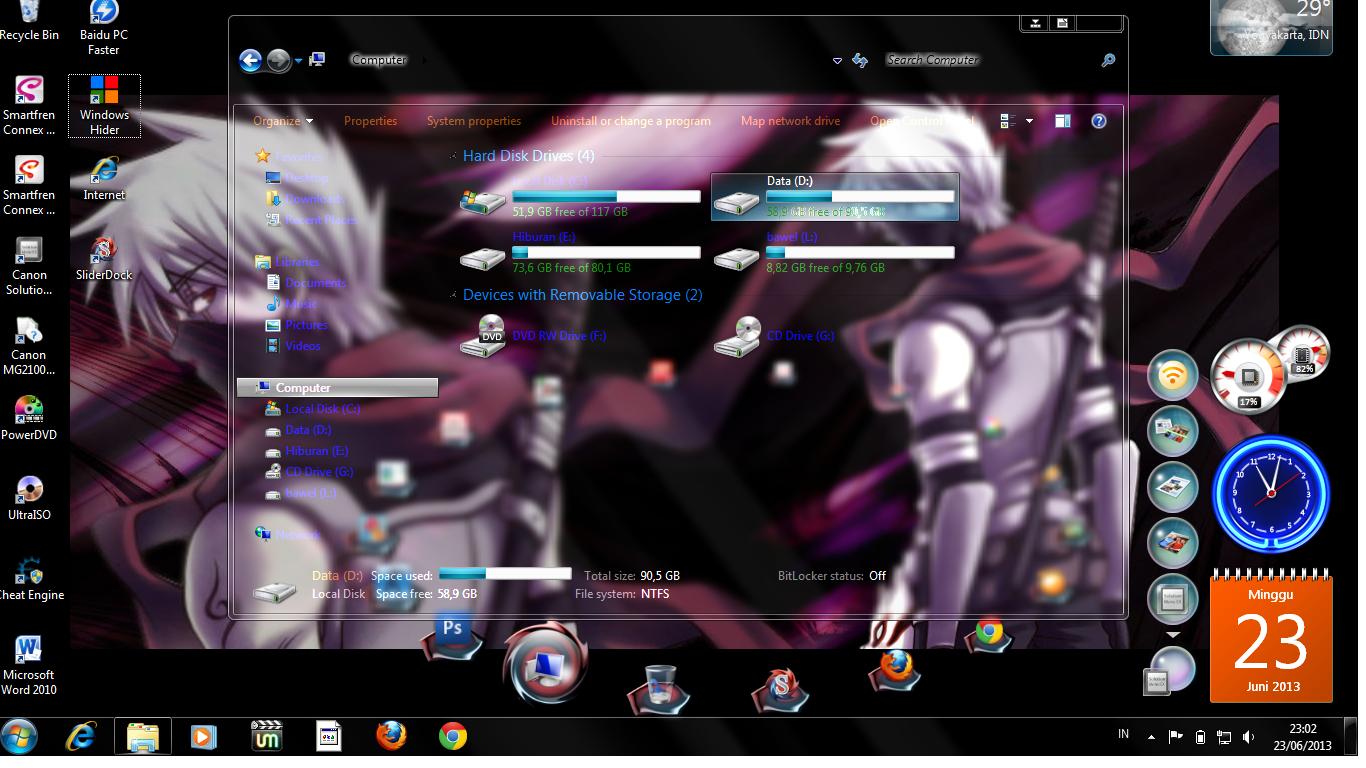 Tuankelinci Cara Modif Tampilan Windows 7 Jadi Transparan