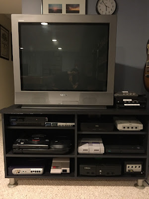 My retro console seup